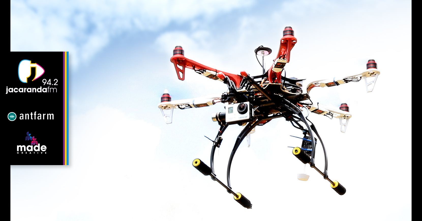 End Is Nigh For Traffic – Jacaranda FM and drones